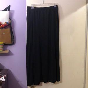 NWT Black Maxi Skirt